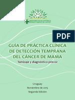 Guia practica clinica de detección temprana del cáncer de mama
