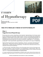 5 Pillars of Hypnotherapy