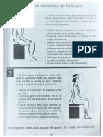 Lección para el equilibrio de la postura de la pelvís