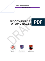 Draft CPG Management of Atopic Eczema