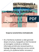 Anatomia Functionala a Meningelor Creerului