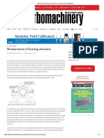 Measurement of Bearing Clearance _ Turbomachinery Magazine