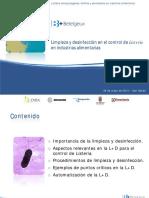 Limpieza y Desinfeccion en El Control de Listeria