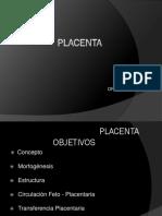 Fisiologia Placentaria. Dr Madriz. PDF.