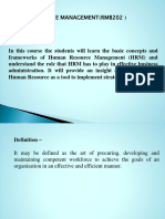 HRM Ist Unit