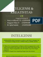 PPT KEL 9 INTELIGENSI & KREATIVITAS.pptx