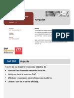 Séance TP- Navigation SAP