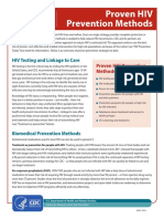 Hiv Proven Prevention Methods 508