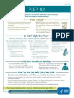 Prep101 Consumer Info