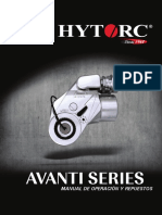 manual de operacion llave avanti hytorc