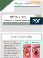 radiologi LAPKAS BRONKITIS