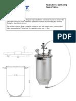 Carlsbergflask Leaflet