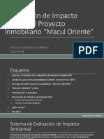 Presentación SEIA Proyecto Macul Oriente