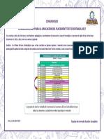 ComunicadoPlacement Test 2017.pdf