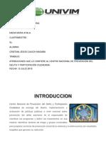Atribuciones Que Le Confiere Al Centro Nacional de Prevención Del Delito y Participación Ciudadana.