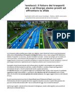 Francesco Pavolucci Smart Road Ad Energo Siamo Pronti Ad Affrontare La Sfida