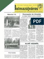 Balmazújváros újság - 2004 március
