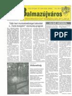 Balmazújváros újság - 2004 október