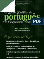 O Livro Didático de Português e o Desenvolvimento Da Competência Comunicativa