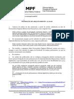 Decisão da Procuradoria Regional Eleitoral em Pernambuco