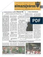 Balmazújváros újság - 2005 augusztus