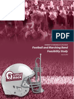 UA-Little Rock Football and Marching Band Feasibility Study
