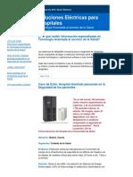 Revista Electroindustria - Seguridad Eléctrica en Quirófanos