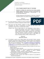Lei Complementar Municipal Nº 239, De 10 de Agosto de 2006