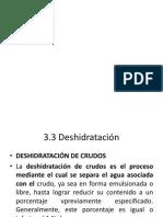 Procesamiento de Aceite Crudo