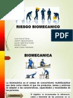 RIESGOS BIOMECANICOS