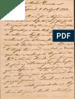 Carta de Caxias à Esposa [Agosto-1867]