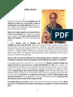 Athanasius, Vida de San Antonio Abad, ES