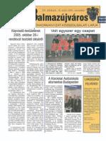 Balmazújváros újság - 2005 november