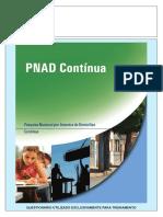 Questionario PNAD Continua