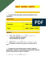 Curso de Japonés Avanzado N3 UNIDAD 7