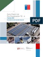 Guia Check List Prefabricacion Te4