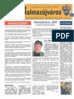 Balmazújváros újság - 2006 december