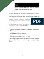 Metodología de Evaluación Simplificada Del Riesgo Químico Por Inhalación