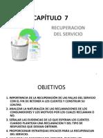 Capítulo 7 Recuperacion Del Servicio