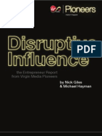 Disruptive Influence - The Entrepreneur Report