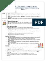 quarter 1 standards - parent handout