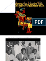 Pan-African Perspective Calendar