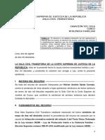 LP Casacion 913 2016 Cusco Maltrato Psicologico y Emocional