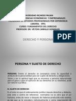 04) Derecho y Persona