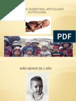 Evaluacion Semestral Articulado Nutricional 2014