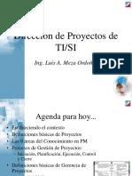 Proyectos Informaticos I