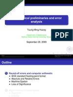 01. Mathematical Preliminaries and Error Analysis