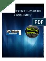 Presentacion Curso Codificacion de Llaves Con Chip o Inmovilizadores 1