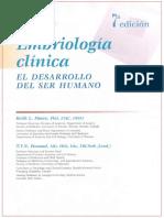 Embriología Clínica Moore