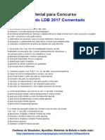 Simulado LDB 2017 Comentado